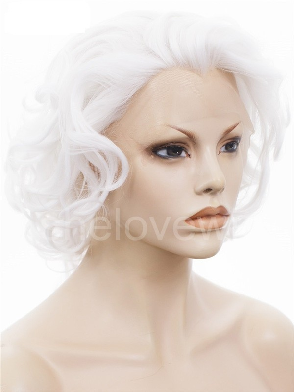 Buy Short White Wig Up To 62 Off