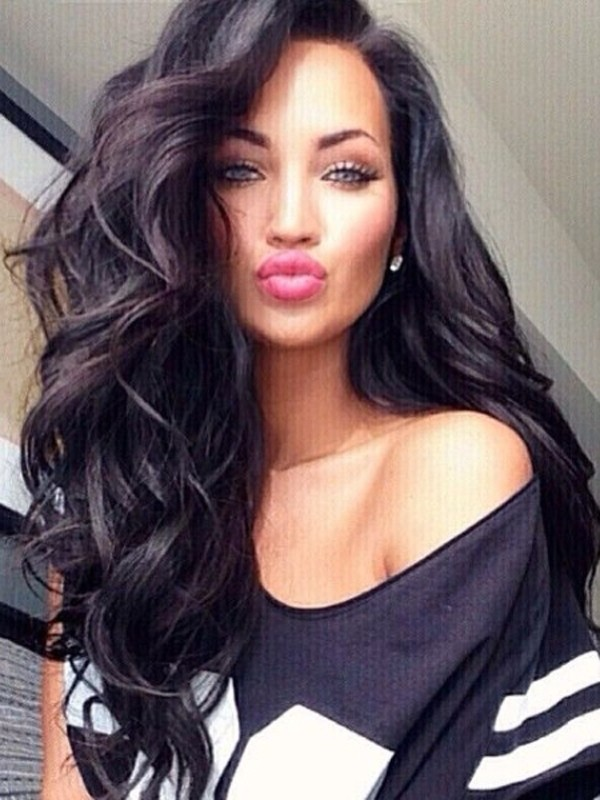 deep loose wave full lace front wig