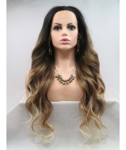 trend realistic synthetic lace front wig heat resistant