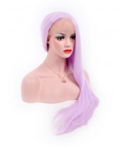 realistic synthetic lace wig