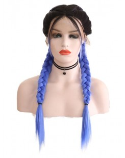 new braid lace wig trend synthetic lace wig