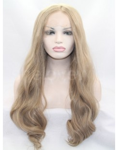 beauty women synthetic lace wig