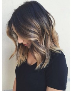 fashion beauty ombre full lace front wig
